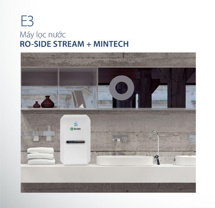 Công nghệ Mintech của máy lọc nước Aosmith E3