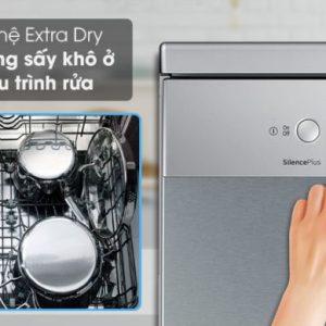 Tính năng sấy tăng cường của máy rửa bát Bosch SMI4HCS48E