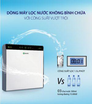 Công suất lọc vượt trội với máy lọc nước A.O.Smith UV AR600-U3