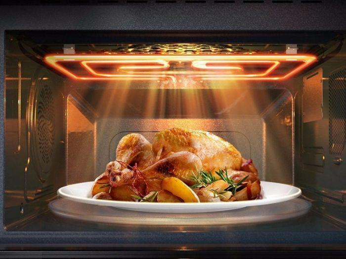 Với lò nướng Bosch HBG635BS1 được cài sẵn chức năng nấu ăn tự động
