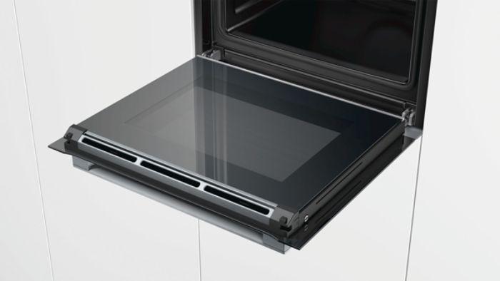Giảm cấn với lò nướng kết hợp hấp Bosch CSG656RS1
