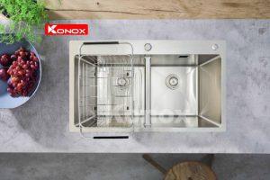 Đặc điểm nổi bật của Chậu rửa bát konox KN8248DOB