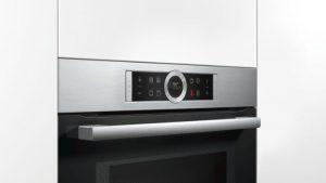 Lò nướng kết hợp vi sóng Bosch CMG633BS1 dễ dàng sử dụng
