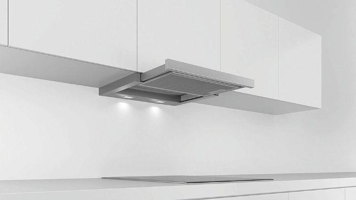 Đèn chiếu sáng LED của máy hút mùi Bosch DFT63AC50 mức sáng ổn định