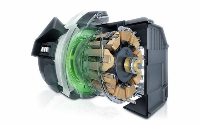 Động cơ của máy rửa bát Bosch SMS46MI01G sử dụng êm ái, tiết kiệm điện năng cho gia đình bạn