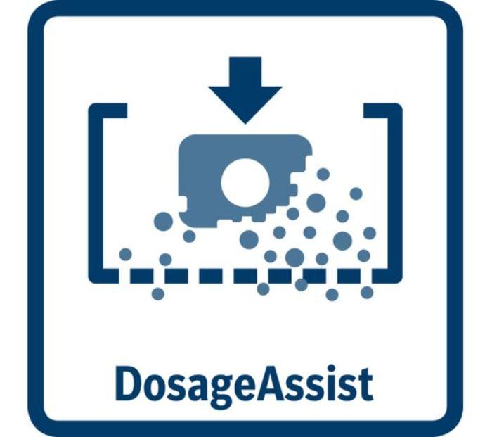 Dosage Assist của máy rửa bát âm tủ BOSCH SMI46KS01E Serie 4