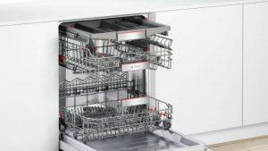 Hệ thống giàn rửa của máy rửa bát Bosch SMI4HCS48E