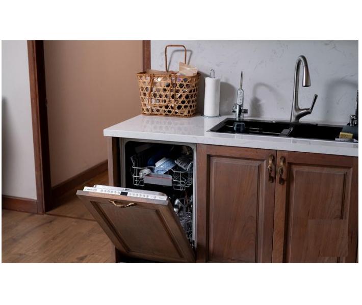 Hình ảnh lắp đặt máy rửa bát Bosch SMV46KX01E serie 4