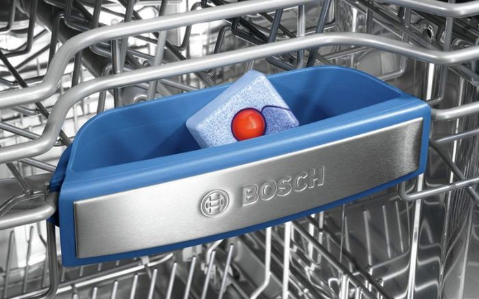 Hộp đựng chất tẩy kết hợp của máy rửa bát âm tủ BOSCH SMI46KS01E Serie 4