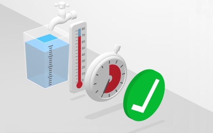 Tính năng Hygiene Plus (diệt khuẩn) của máy rửa bát Bosch SMS46GW01P