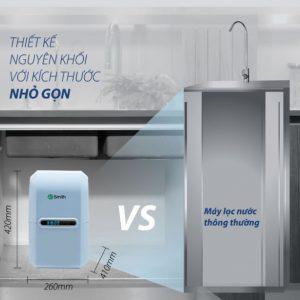 Khả năng đáp ứng nhu cầu của khách hàng cao đối với máy lọc nước AO Smith A2