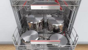 Khay rửa bát của máy rửa bát Bosch SMV6ZCX49E