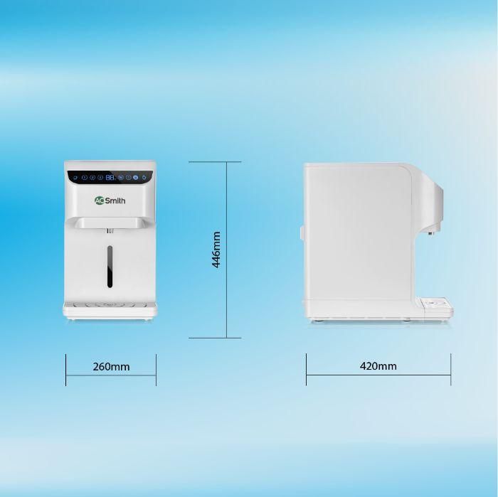 Thông số lắp đặt của máy lọc nước RO AR75-A-S-H1