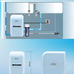 Lắp đặt của máy lọc nước AO Smith A2