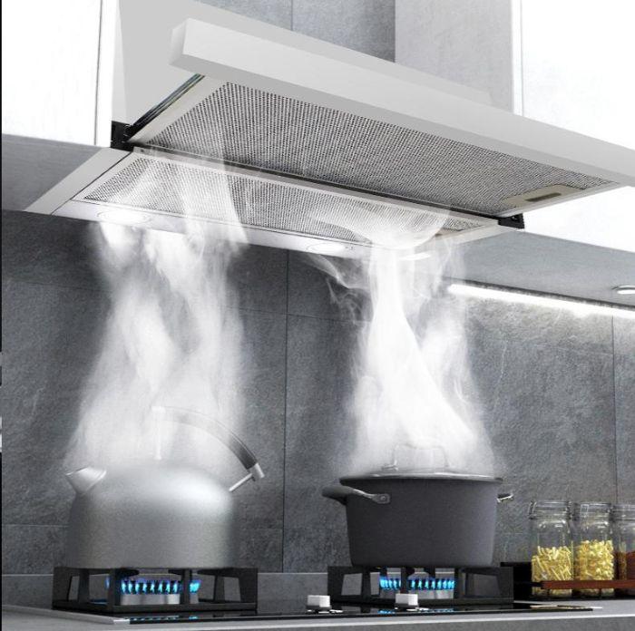 Loại bỏ mùi khó chịu với chế độ hút chuyên sâu của máy hút mùi Bosch DHL755BL