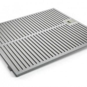 Lưới lọc mỡ của máy hút mùi Bosch DWB77IM50 thẳng làm bằng thép không gỉ