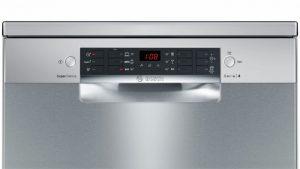 Màn hình hiện thị của máy rửa bát Bosch SMS46MI05E