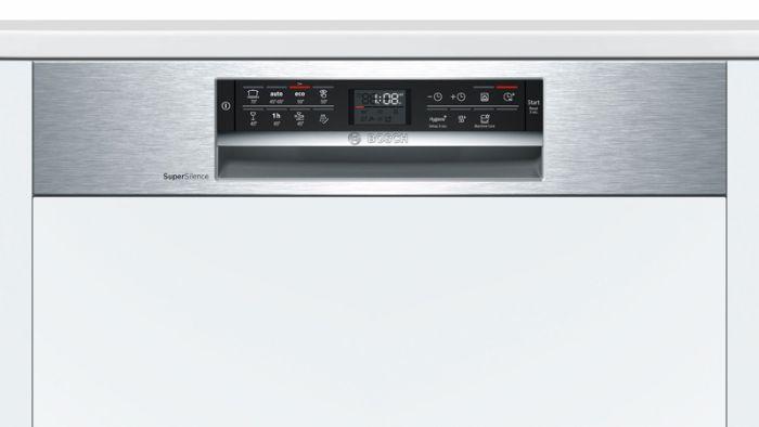 Màn hình hiển thị của máy rửa bát Bosch SMI68NS07E