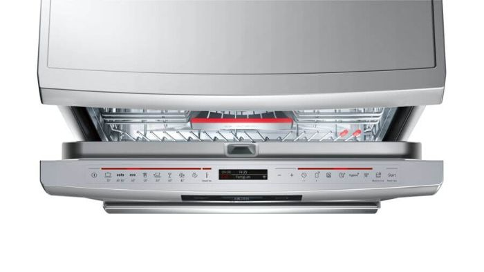 Màn hình TFT hiển thị sắc nét của máy rửa bát Bosch SMS88UI46E