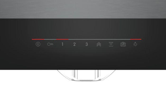 Touch Control được trang bị trong máy hút mùi Bosch DFS067J50B