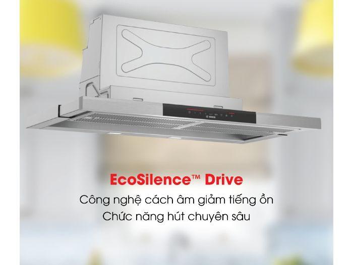 Máy hút mùi Bosch DFS067J50B được trang bị EcoSilence Driveosch DFS097J50B series 8