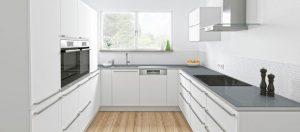 Không gian bếp sử dụng máy rửa bát Bosch SMV46KX01Eserie 4