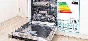 Nhãn năng lượng A+++ của máy rửa bát Bosch SMV46KX01E serie 4