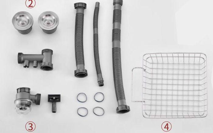 Các sản phẩm của chậu rửa bát Konox đều được làm bằng vật liệu cao cấp, bền bỉ