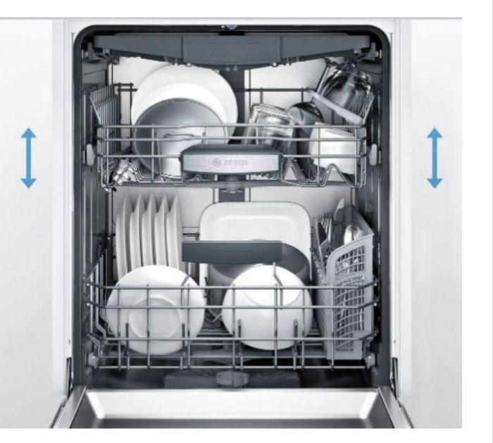 Rack Matic của Máy rửa bát âm tủ BOSCH SMI46KS01E Serie 4