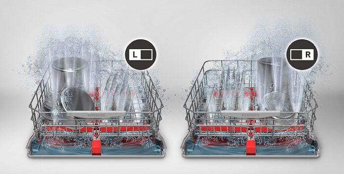 Rửa chuyên sâu Intensive Zone của máy rửa bát Bosch