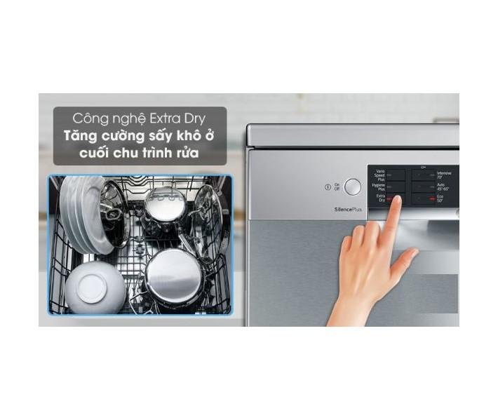 Công nghệ sấy thêm của máy rửa bát Bosch SMS68MI04E