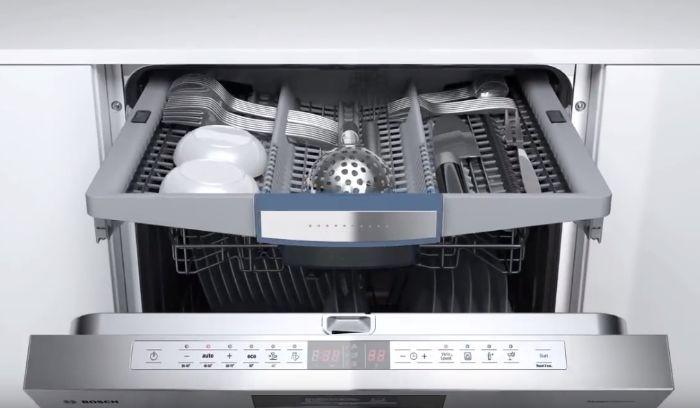 Thiết bị trao đổi nhiệt của máy rửa bát âm tủ BOSCH SMI46KS01E Serie 4
