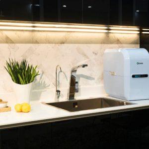 Thiết kế của máy lọc nước AO Smith A2 nhỏ gọn, tinh tế, sang trọng