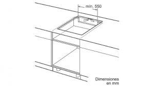 Thông tin lắp đặt của của bếp từ Bosch PUC631BB2E