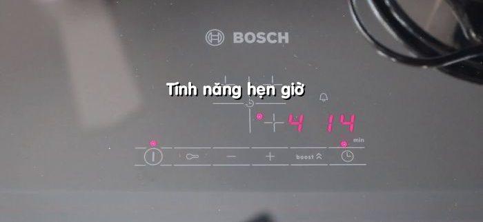 Tính năng hẹn giờ của bếp từ Bosch PUJ631BB2E series 4