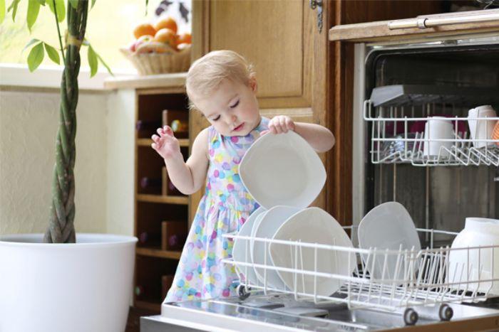 An toàn cho trẻ với máy rửa bát Bosch SMS46MI01G