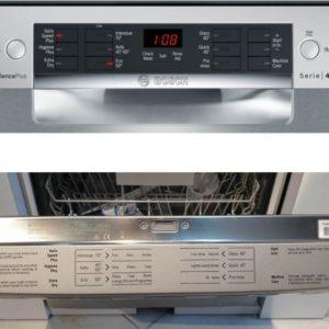 Chỉ nên mở cửa máy rửa bát Bosch SMS46MI01G khi máy đã hoạt động xong hoàn toàn