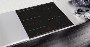 Vùng nấu cảm ứng điện từ của Bếp từ Bosch