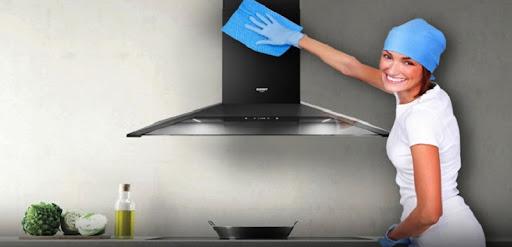 Các vật dụng cần chuẩn bị khi vệ sinh máy hút mùi Bosch