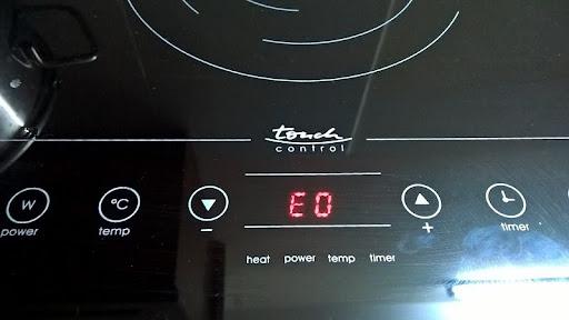 Lỗi bếp từ Bosch chữ E0