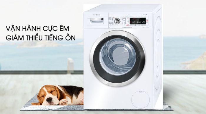 Máy giặt Bosch WAN28108GB hoạt động siêu yên tĩnh