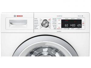 Bảng điều khiển của Máy giặt cửa trước Bosch WAW28790HK