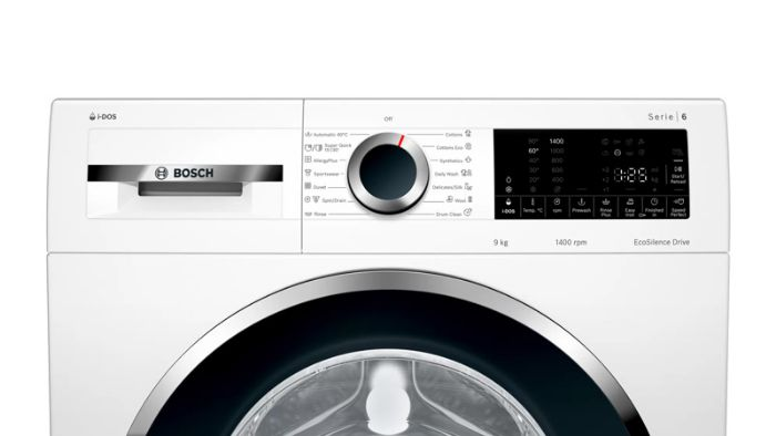 Bảng điều khiển của Máy giặt Bosch WGG244A0SG