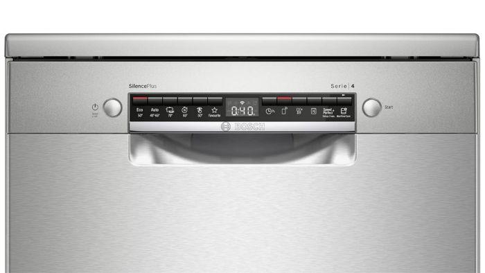 Màn hình hiển thị của máy rửa bát Bosch SMS4HCI48E