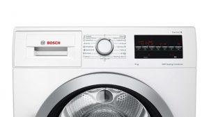Bảng điều khiển của Máy sấy quần áo Bosch WTW85400SG