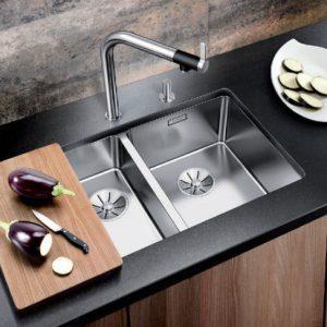 Chậu rửa Blanco andano 340/340-IF phù hợp với hầu hết không gian bếp