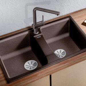Chậu rửa bát Lexa 8 phù hợp với hầu hết không gian bếp