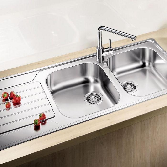 Chậu rửa bát inox Blanco DINAS 8S phù hợp với hầu hết không gian bếp
