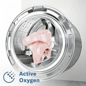 Công nghệ giặt hơi ActiveOxygen hiện đại củaMáy giặt cửa trước Bosch WAW28790HK