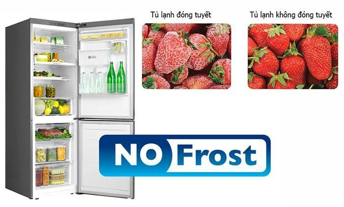Chống đóng tuyết hiệu quả với Tủ lạnh Bosch 2 cánh Side by Side KAN92VI35O